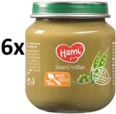 Hami Zelený hrášek - 6 x 125g