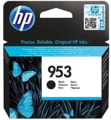 HP 953 černá originální inkoustová kazeta (L0S58AE)