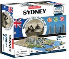 4D Cityscape Sydney 4Dimenziós Puzzle