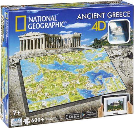 4D Cityscape Ókori Görögország 4Dimenziós Puzzle