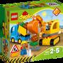 2 - LEGO DUPLO® 10812 Kamion i bager gusjeničar