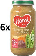 Hami Zemiaky s hovädzím a hráškom - 6 x 250g
