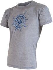 Sensor Koszulka Merino Wool Pt Kompas M