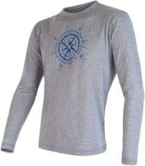 Sensor Merino Wool Pt Kompas pánske tričko dl.ruk.