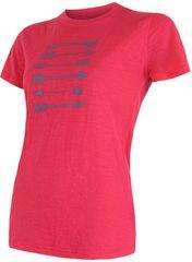 Sensor Merino Wool Pt Női póló