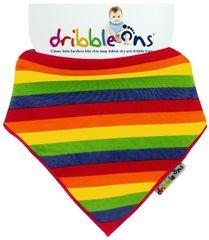 XKKO Śliniaczek Dribble Ons Rainbow