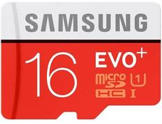 Samsung pomnilniška kartica microSDHC 16GB C10 80MB/s + adapter