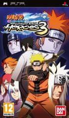 Namco Bandai Games Naruto Shippuden: Ultimate Ninja Heroes 3 (PSP)