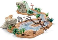 Schleich Zvierací svet pri vodopáde 42321