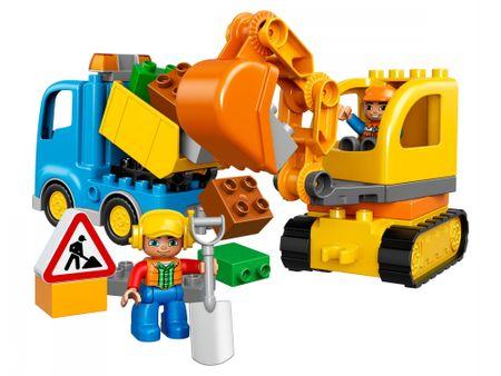 LEGO DUPLO® 10812 Kamion i bager gusjeničar