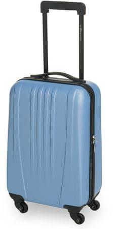 Leonardo kabinski kovček Trolley 18 ABS, moder