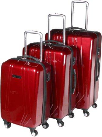 84e15b40e818a Leonardo Sada kufrů Trolley červená | MALL.CZ