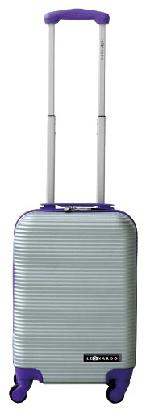 Leonardo Duo Color Bőrönd, ibolya