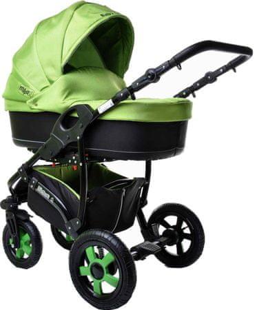 Sun Baby Ibiza 2in1 Babakocsi, Zöld