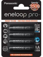 Panasonic AA 4ks 2500 mAh Eneloop Pro (3HCDE/4BE)