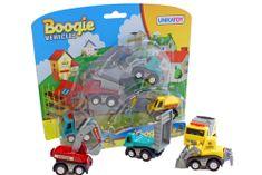 Unikatoy vozila mini Boogie, set (24035)