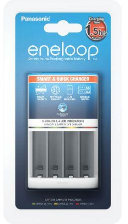 PANASONIC Smart & Quick charger Elemtöltő