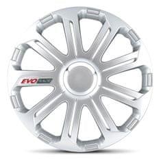 """AutoStyle pokrovi platišč EVO Race Silver 14"""""""