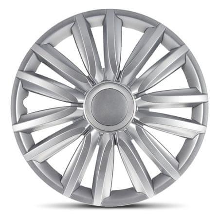 """AutoStyle pokrovi platišč Intenso Silver 14"""""""
