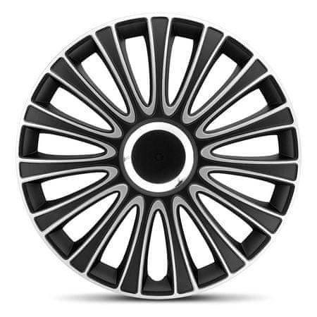 """AutoStyle pokrovi platišč LeMans Black/Silver 16"""""""