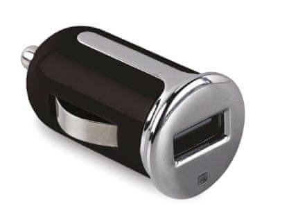 Celly Autonabíječka Turbo, USB 2,4 A, černá