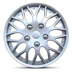 """AutoStyle pokrovi platišč Missouri Silver 15"""" - Odprta embalaža"""