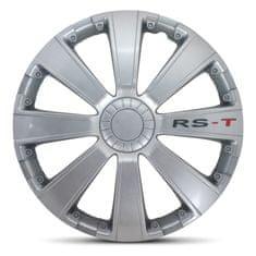 """AutoStyle pokrovi platišč RS-T Silver 15"""""""