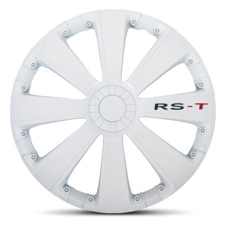 """AutoStyle pokrovi platišč RS-T White 16"""""""