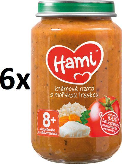 Hami Paradajky s treskou a ryžou - 6 x 200g