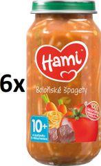 Hami Špagety s hovädzím a zeleninou - 6 x 250g