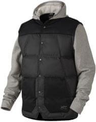 Oakley muška jakna Ambassador Fleece, crno-siva