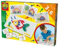 SES Mozaikkép készítő Kreatív játék