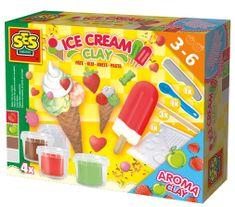 SES Gyurma fagylalt készítő Kreatív játék