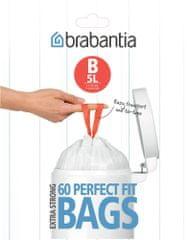 Brabantia Kukazsákok 5 l (B) 60 db