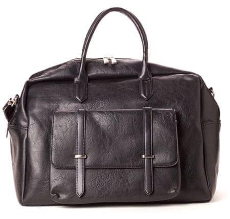 Bobby Black muška torba, crna BM1038