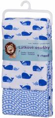 T-tomi Bawełniany ręcznik, Niebieski Ocean, 2 sztuki