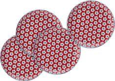 Maxwell & Williams pladnji, rdeči, 4 kosi