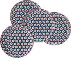 Maxwell & Williams servirni krožnik Cotton Bud, 23 cm , 4 kosi