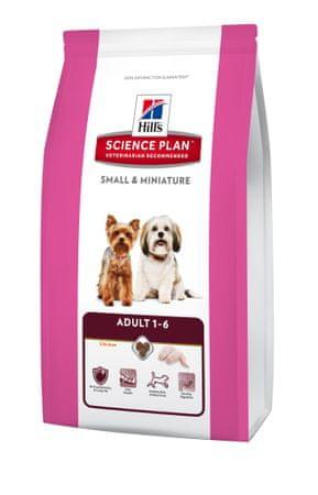 Hill's hrana za odrasle pse majhnih in miniaturnih pasem, 6,5 kg