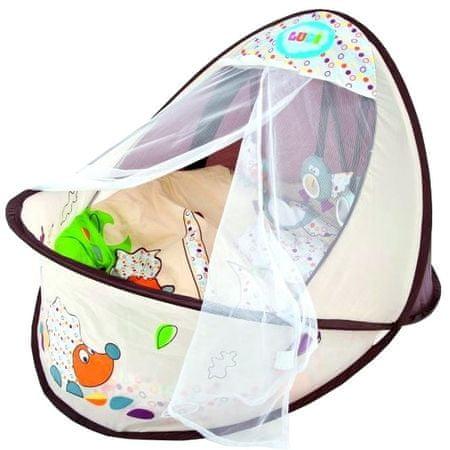 Ludi Cestovná postieľka-hniezdo pre bábätko Nature