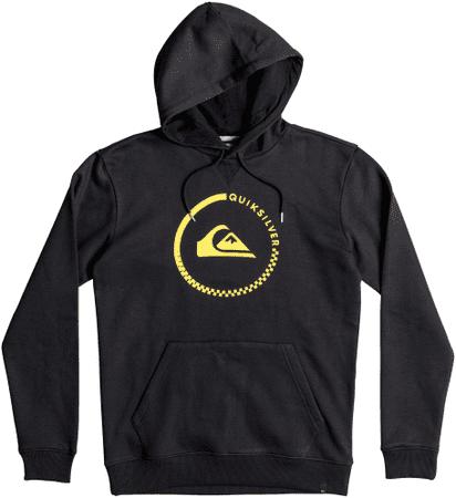 Quiksilver Big Logo Hood M Otlr Black L