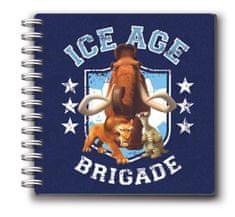 Ice Age dnevnik špirala Ice Age 64L 80g