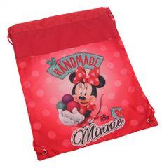 Minnie Mouse vrečka za copate, rdeča