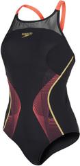 Speedo ženski kupaći kostim Fit Pinnacle Xback, crni
