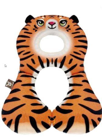 BenBat Nyakpárna fejtámasszal, 1-4 év- Tigris