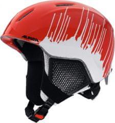 Alpina Sports otroška smučarska čelada Carat LX, rdeča