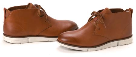 Clark's pánská kotníčková obuv Trigen Mid 45 hnedá