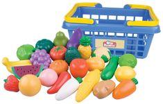 Teddies Košík s ovocím a zeleninou