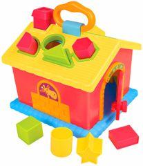 Teddies BABY Edukacyjny domek