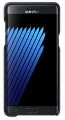 Samsung Zadní kryt Leather Cover, Galaxy Note 7, černá - rozbaleno